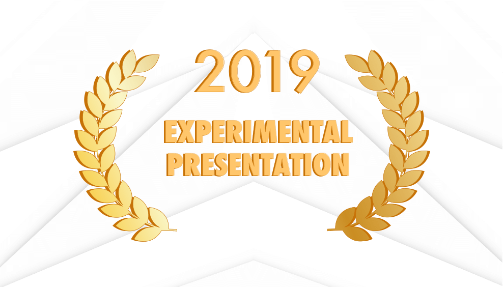 Experimental Presentation Award